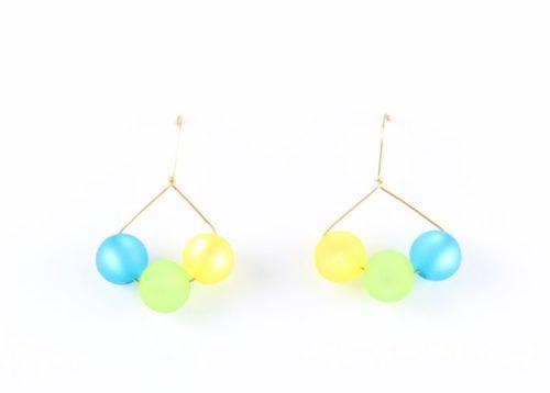 Triolet demi-cercle Polaris éléments®, bleue, verte & jaune