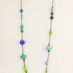 sautoir pierres semi-précieuses et sautoir-de-pierres-semi-précieuses-et-perles-Polaris-ou-de-Murano-Hanaya bijoux