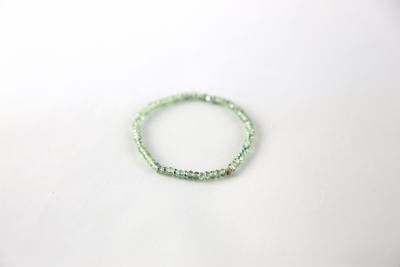Bracelet en perles Swarovski éléments® vert clair