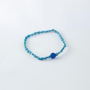 Bracelet en perles Turquoises véritables