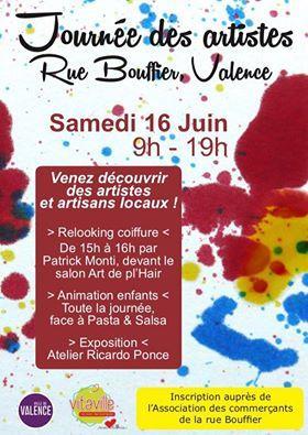 Hanaya Bijoux exposera rue Bouffier, à Valence, samedi 16 juin 2018, pour la journée des artistes.