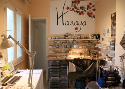 jema : atelier de bijoutier de Véronique Rident, créatrice de bijoux à Valence, Drôme.