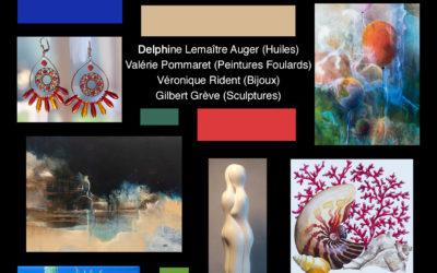 Exposition peinture, sculpture et bijoux